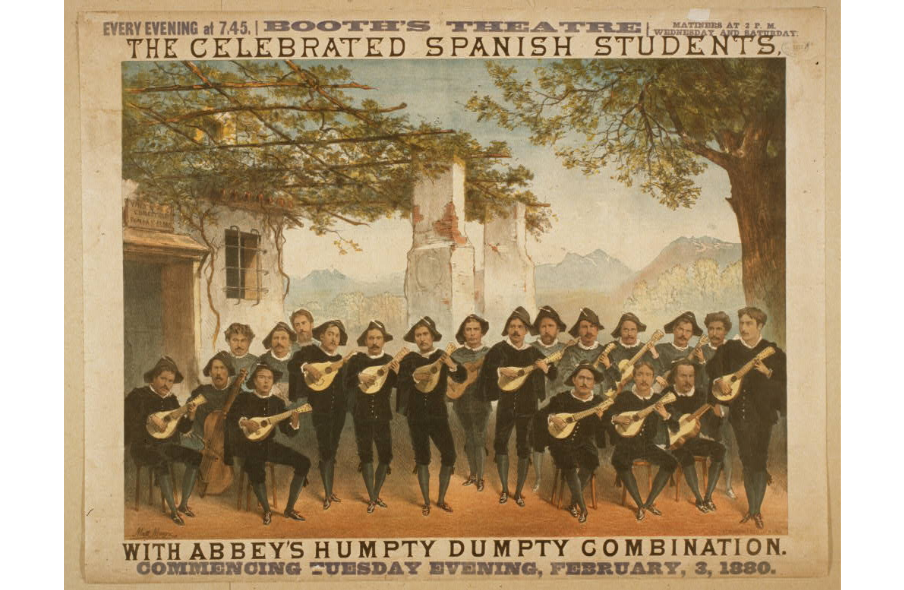 The celebrated Spanish Students with Abbeys Humpty Dumpty combination - Library of Congress