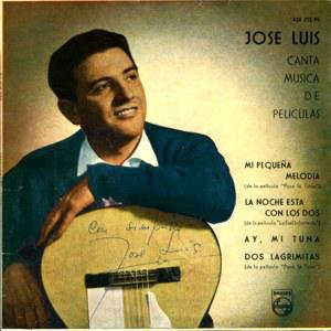 Jose Luis y su guitarra - PHILIPS 428 213 PE