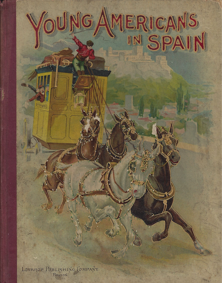 Young americans in Spain. 1899